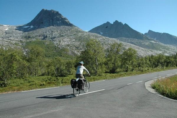 Vakre Norge på to hjul
